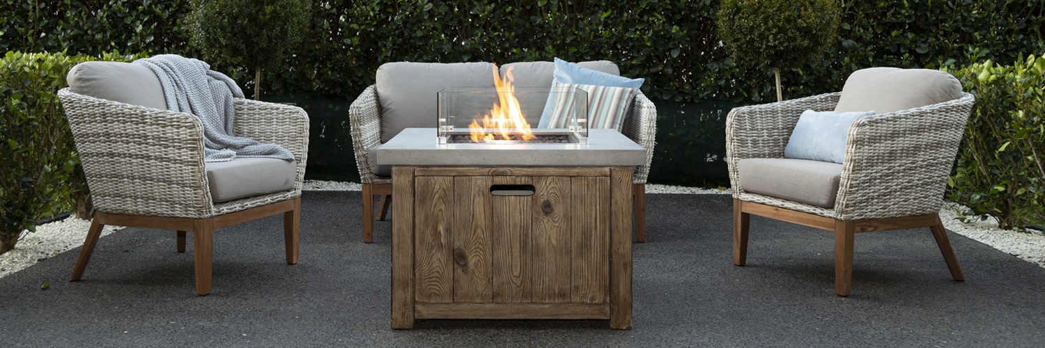 The Helm Gas Fire Table