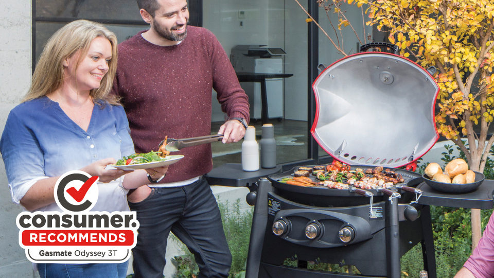 Consumer now recommends the Gasmate Odyssey3t