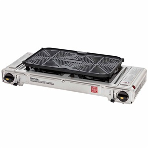 Deluxe Twin Stove with Hotplate
