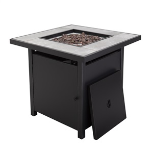 Bastion Gas Fire Table
