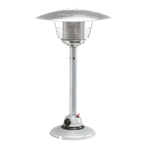 Tabletop Heater (Silver Powder Coat)