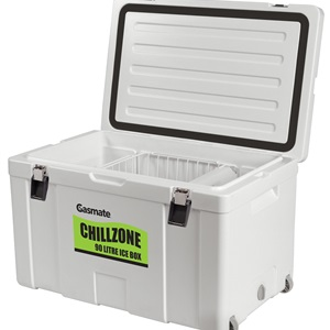 90L Chillzone handle with tie down point and optional basket and divider