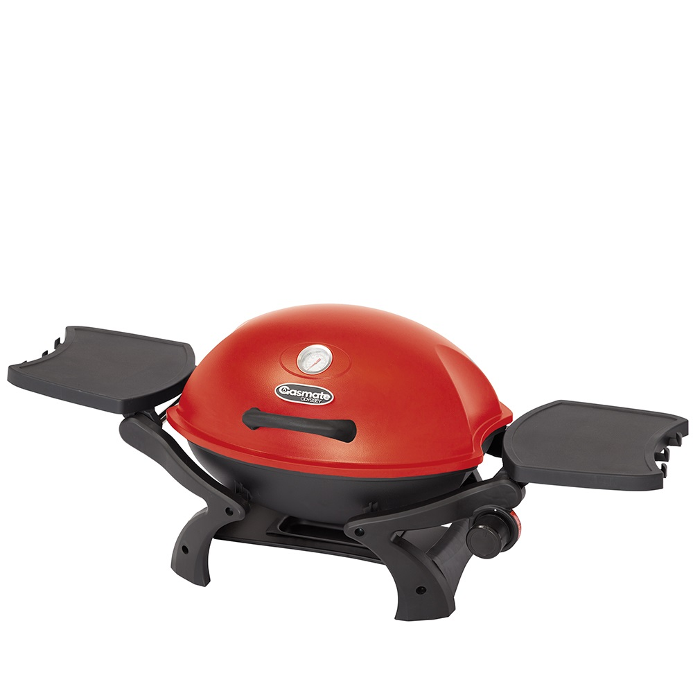 BQ1060R Odyssey1 Single Burner Portable BBQ (Red)